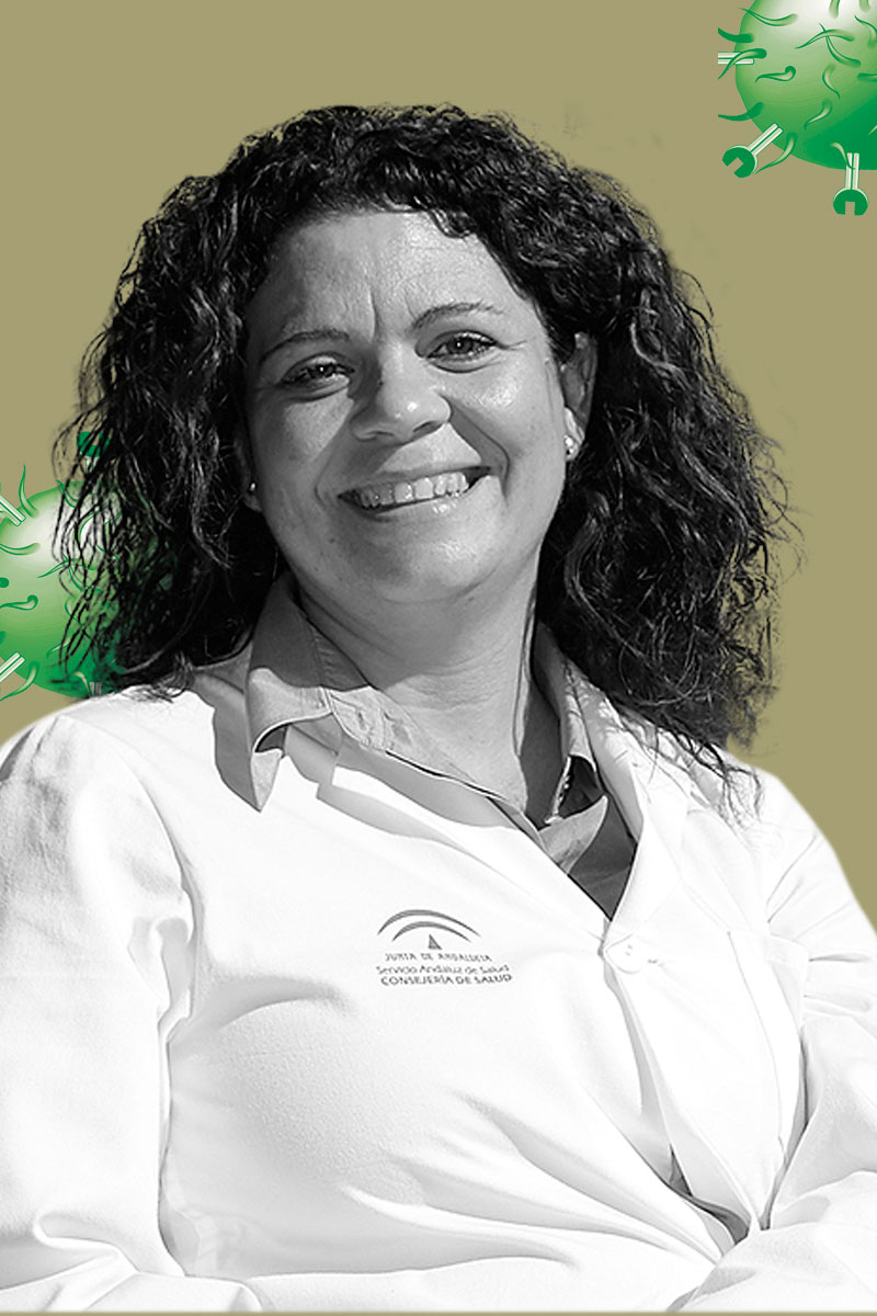 Sandra Flores, del Hospital Universitario Virgen del Roc�o.