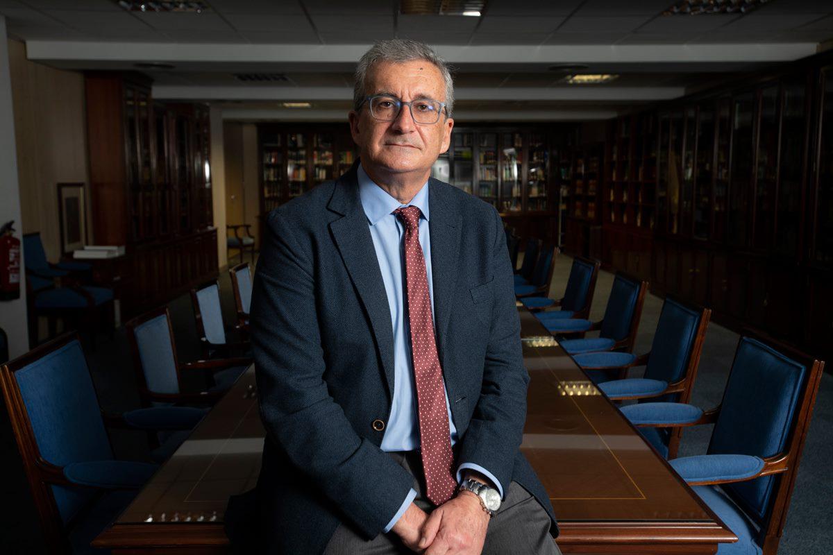 José Guerrero Zaplana, juez. Foto de Mauricio Skrycky.