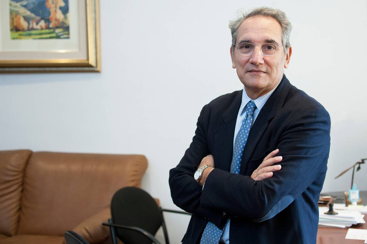 Vicenç Martínez, director de Ordenación Profesional del Ministerio de Sanidad (Jaume Cosialls)