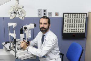 Pedro Arriola, de la USIO del Servicio de Oftalmolog�a del Hospital Cl�nico de Madrid.