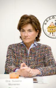 Susana Monereo, secretaria de la SEEDO-SEO.
