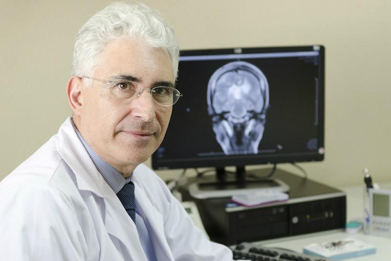 Francisco Grandas, jefe del Servicio de Neurología del Hospital Gregorio Marañón, de Madrid.
