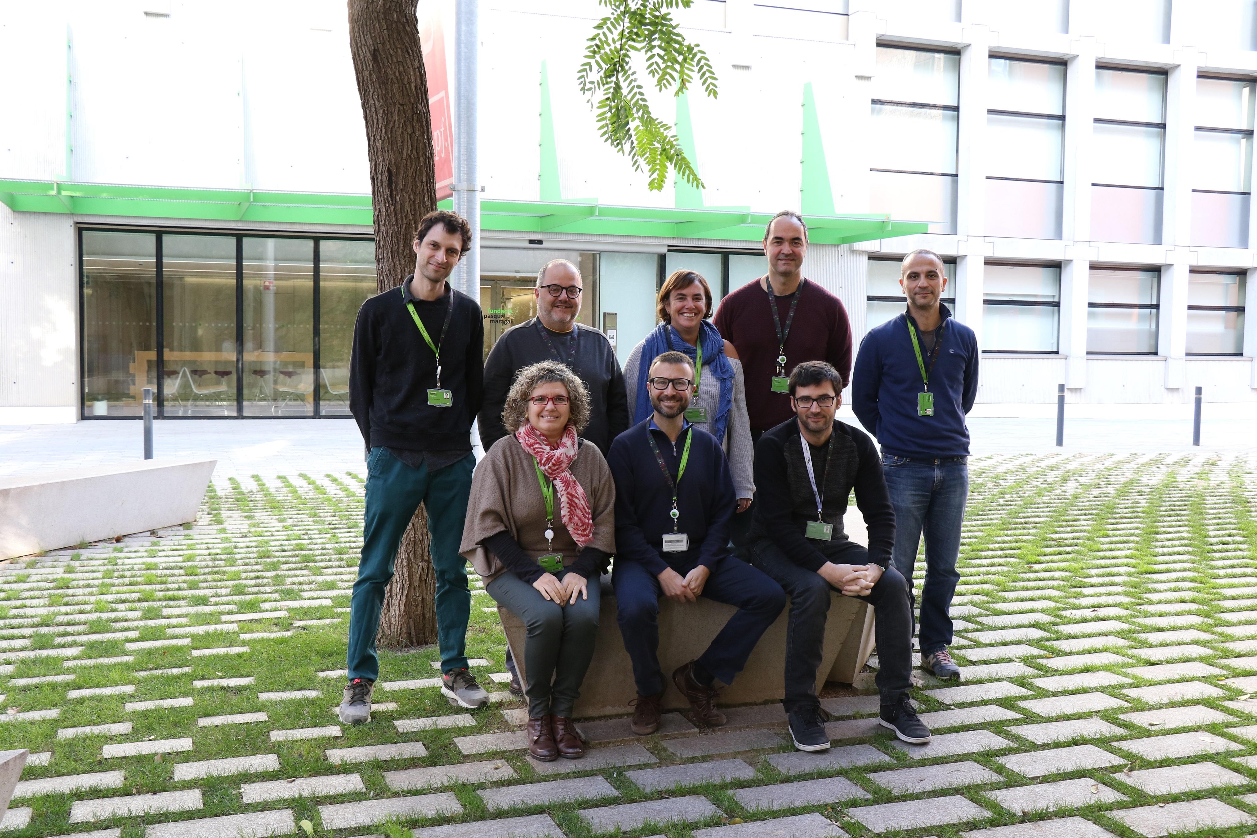 Investigadores del BBCR, autores del estudio.