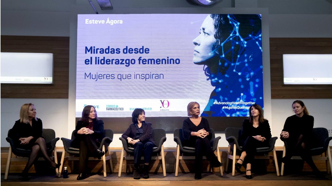 Madrid acogió el segundo encuentro 'Miradas desde el liderazgo femenino', organizado por Correo Farmacéutico, Diario Médico, Yo Dona y Esteve.