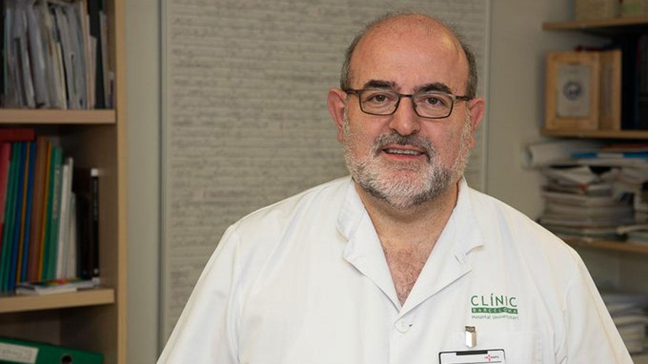 Joaquim Mullol, responsable del área de Rinología y de la Clínica del Olfato del Servicio de Otorrinolaringología del Hospital Clínic y jefe del grupo de investigación Inmunoalergia Respiratoria Clínica y Experimental del IDIBAPS y del CIBERES