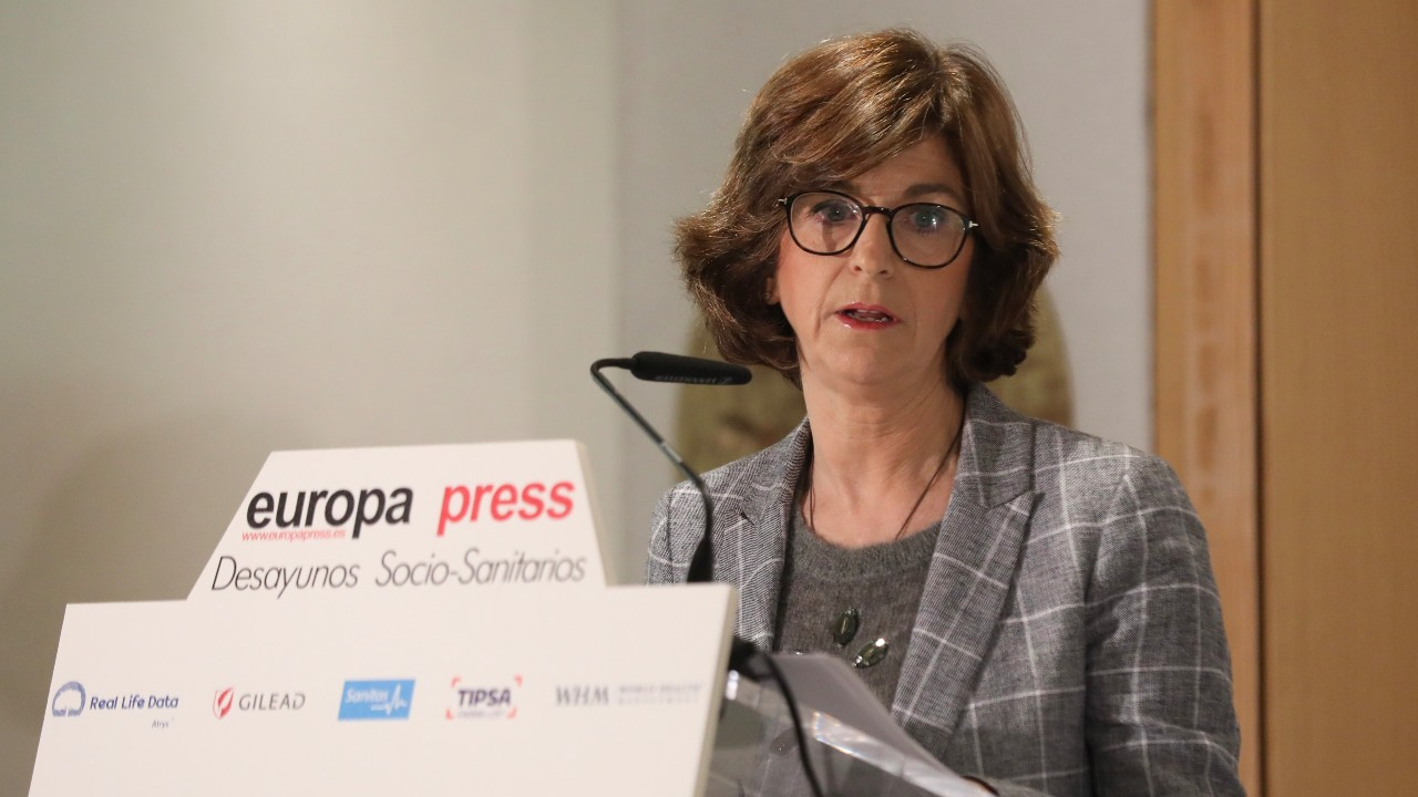 Nekane Murga, consejera de Sanidad del País Vasco.