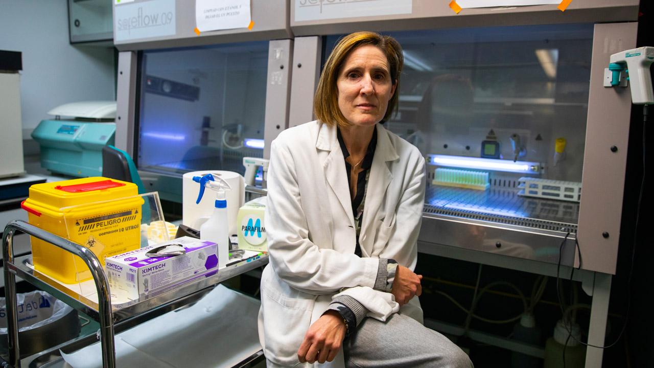 Isabel Sola, directora del Laboratorio de Coronavirus del Centro Nacional de Biotecnología.