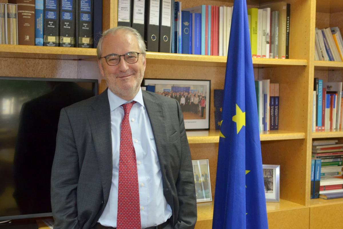 Francisco Fonseca, director de la Representación de la Comisión Europea en España.