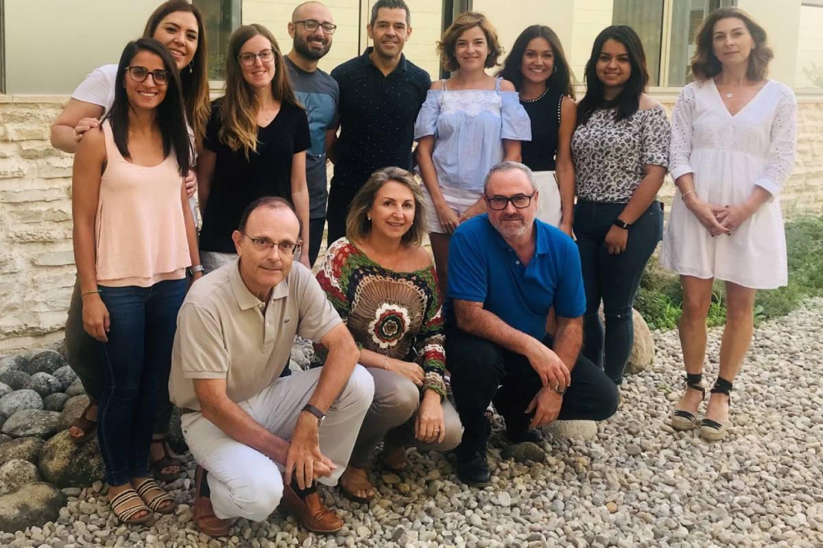 Grupo de Neurobiología Sensorial de la Universidad Miguel Hernández, de Elche.