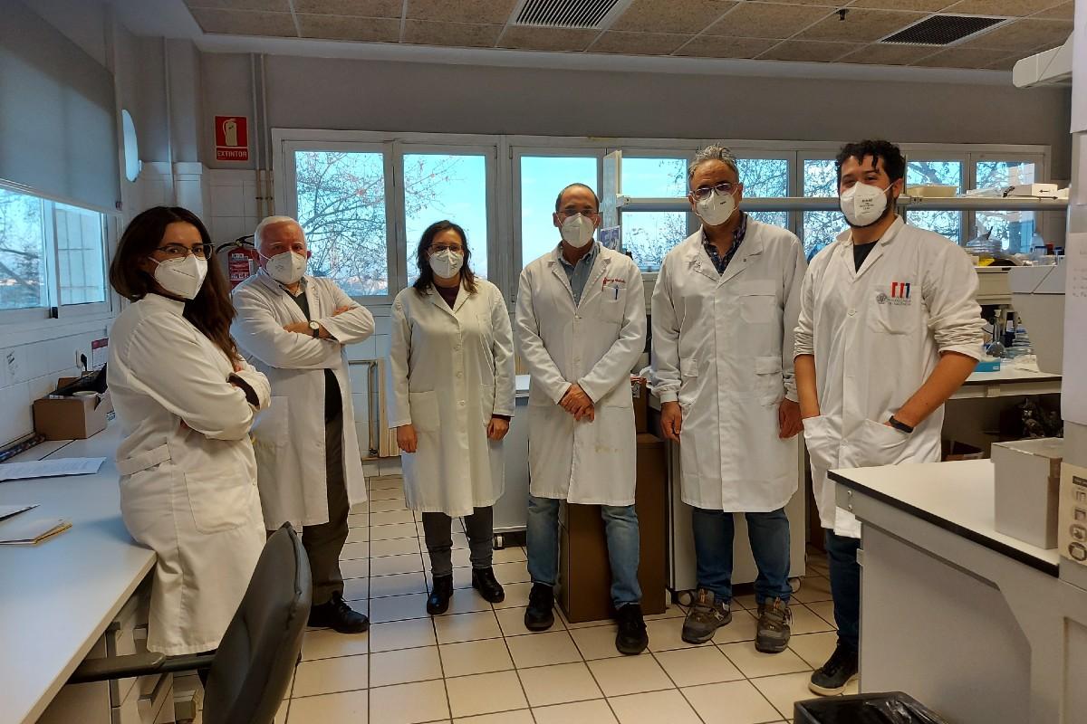 María Isabel Lucío Benito, Ángel Maquieira Catalá, Estrella Fernández Sánchez, Sergi Morais Ezquerro, David Giménez Romero y Augusto Juste Dolz.