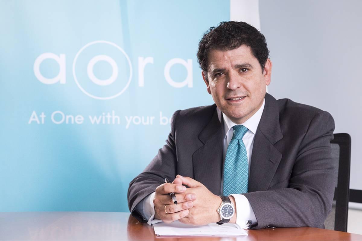 Gonzalo Peñaranda, director general de Aora Health.