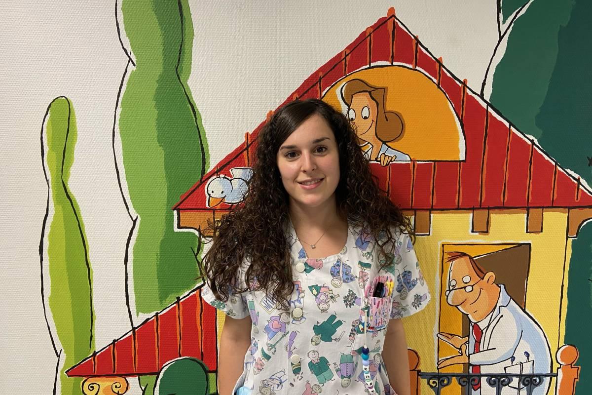 María Isabel Limón Gómez, ganadora del segundo galardón de la cuarta edición de los Premios de Investigación del Colegio de Enfermería de Madrid (Codem).