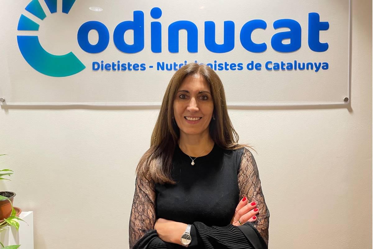 Nancy Babio, presidenta del Colegio de Dietistas y Nutricionistas de Cataluña.