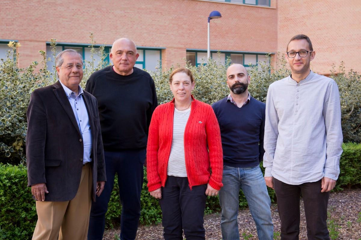 Elson Longo, Juan Andrés Bort, Eloísa Cordoncillo, Livio Ferrazza y Héctor Beltrán-Mir.