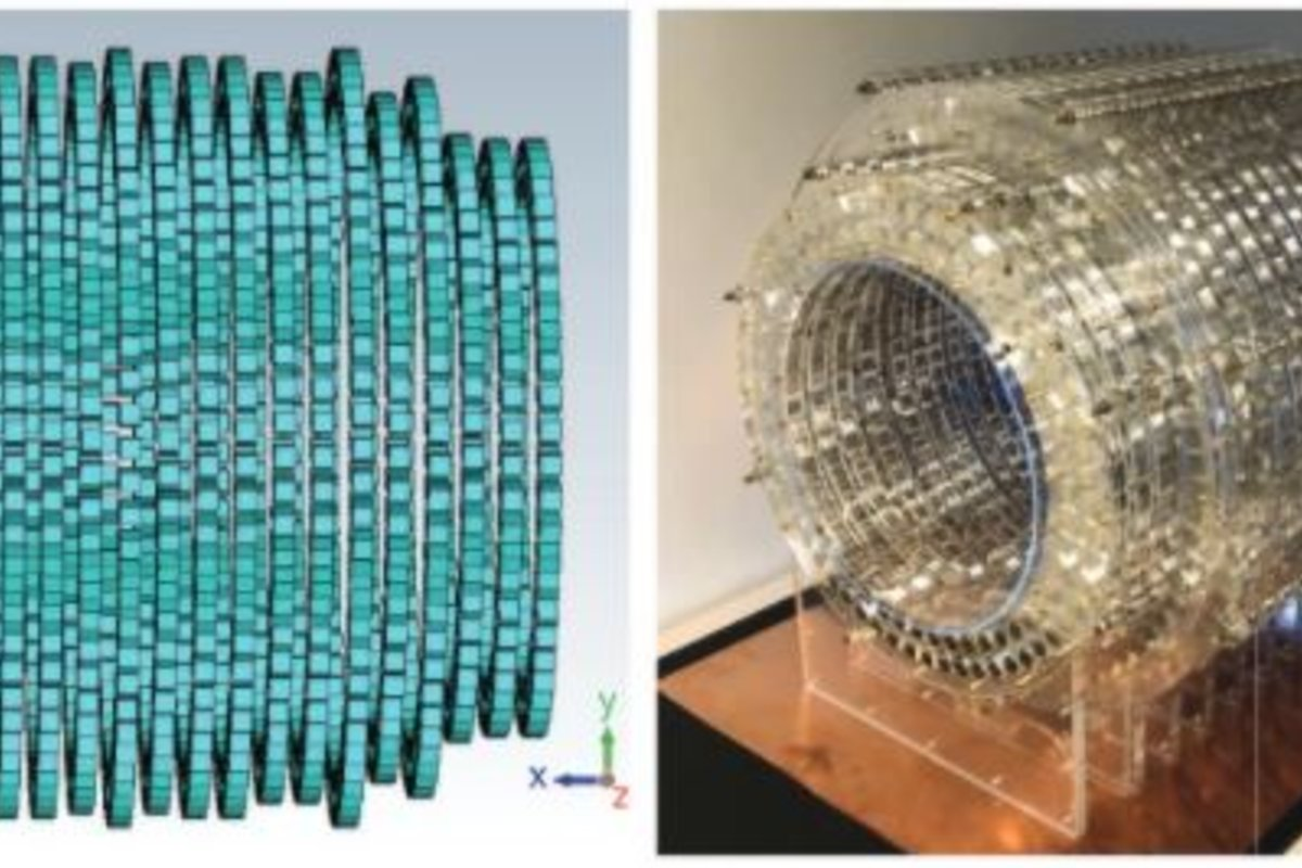 Estructura de los imanes y prototipo de la nueva resonancia magnética