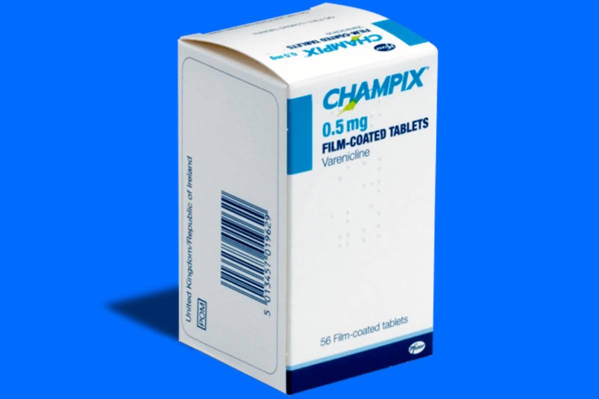 'Champix' (vareniclina), tratamiento para la deshabituación tabáquica.