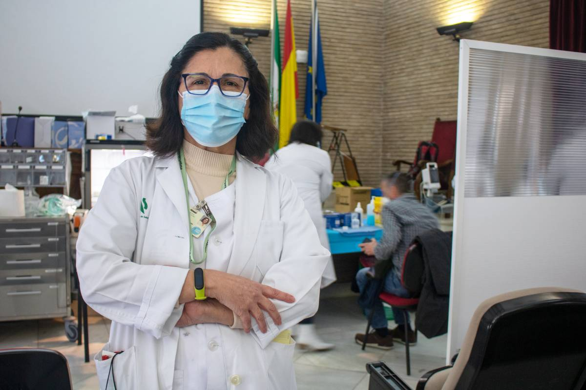 Ana Cazalla, supervisora de Enfermer�a de Medicina Preventiva del Hospital Virgen del Roc�o (Curro Borrajeros/Hospital Virgen del Roc�o)