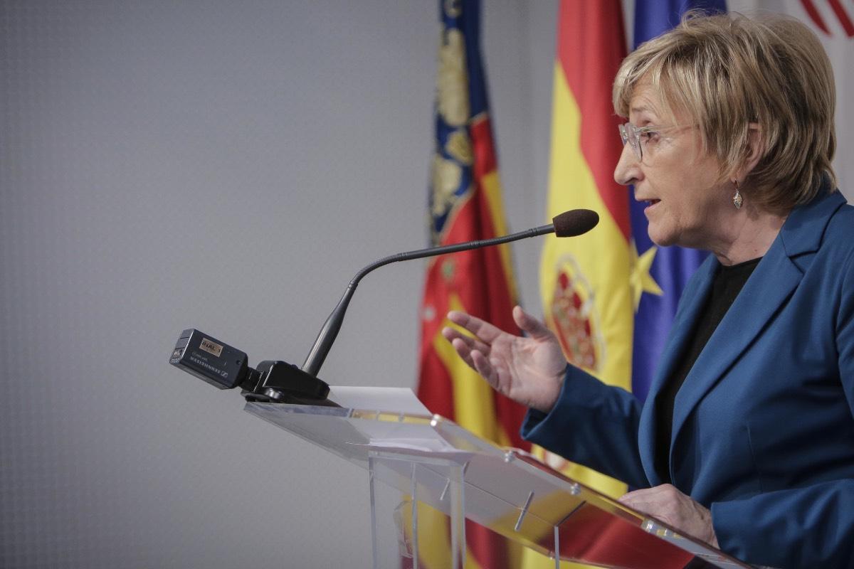 Ana Barceló, consejera de Sanidad de la Generalitat Valenciana.