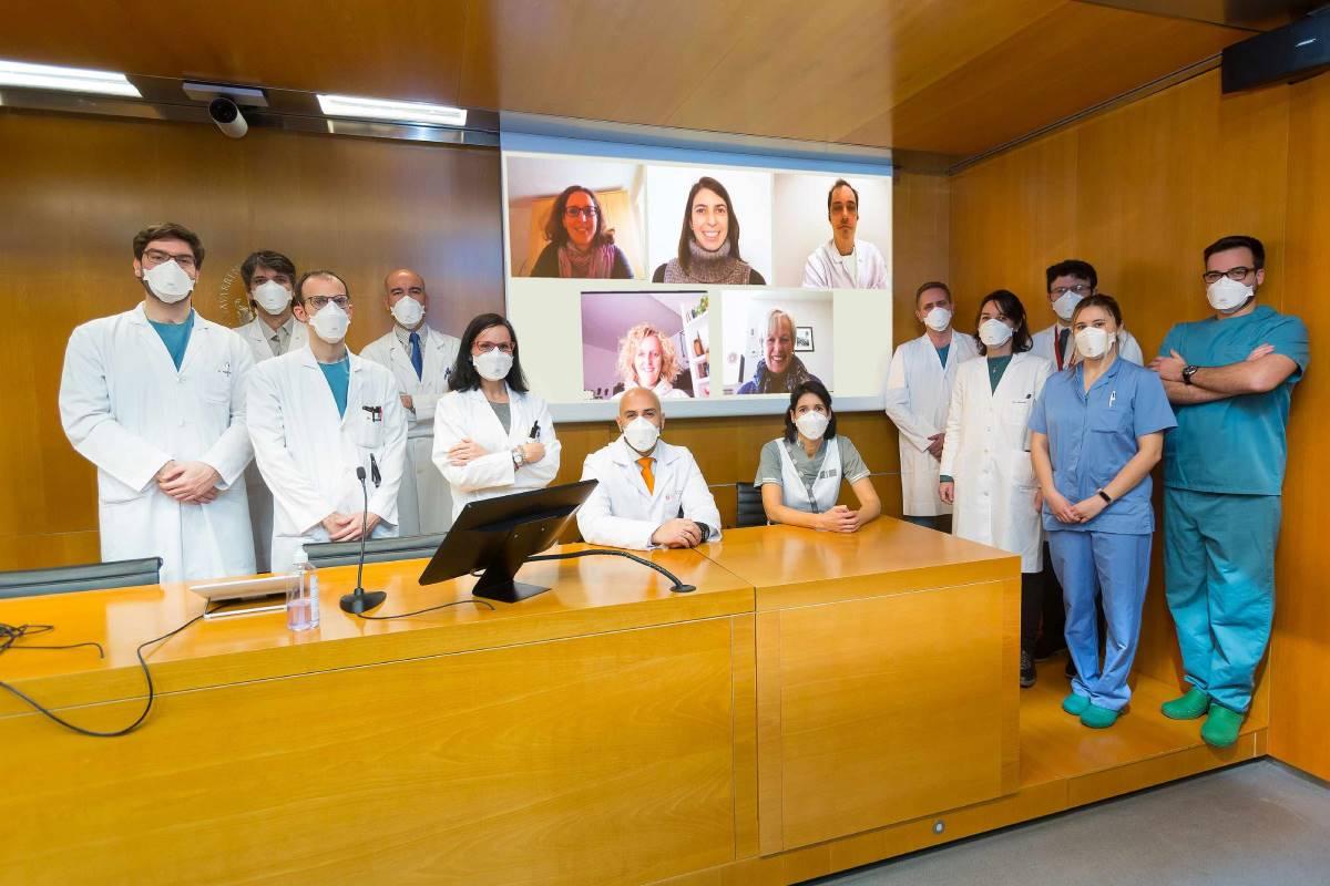 Equipo investigador del estudio, de la Clínica Universidad de Navarra (CUN).