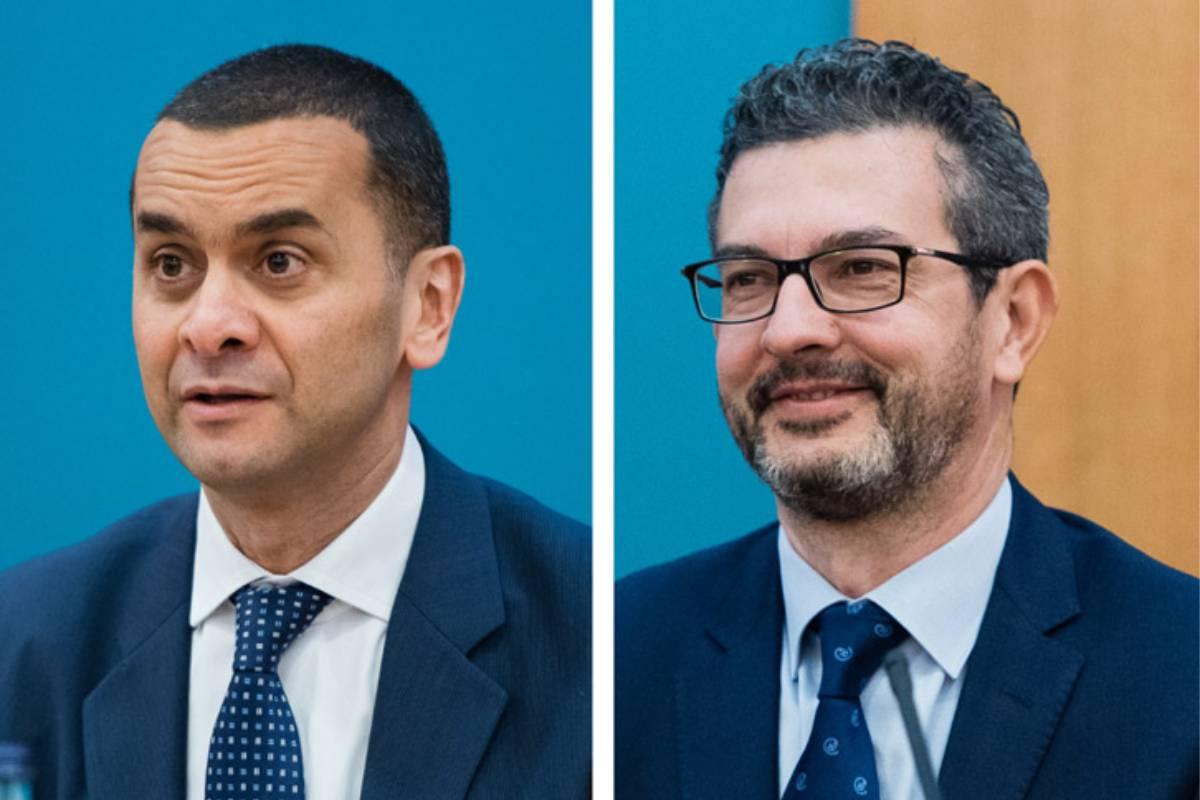 Nabil Daoud y José Antonio Sacristán, presidente y director médico de Lilly España.