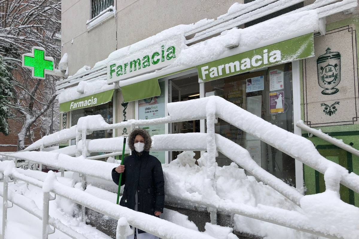 Farmacia en Collado Villalba.