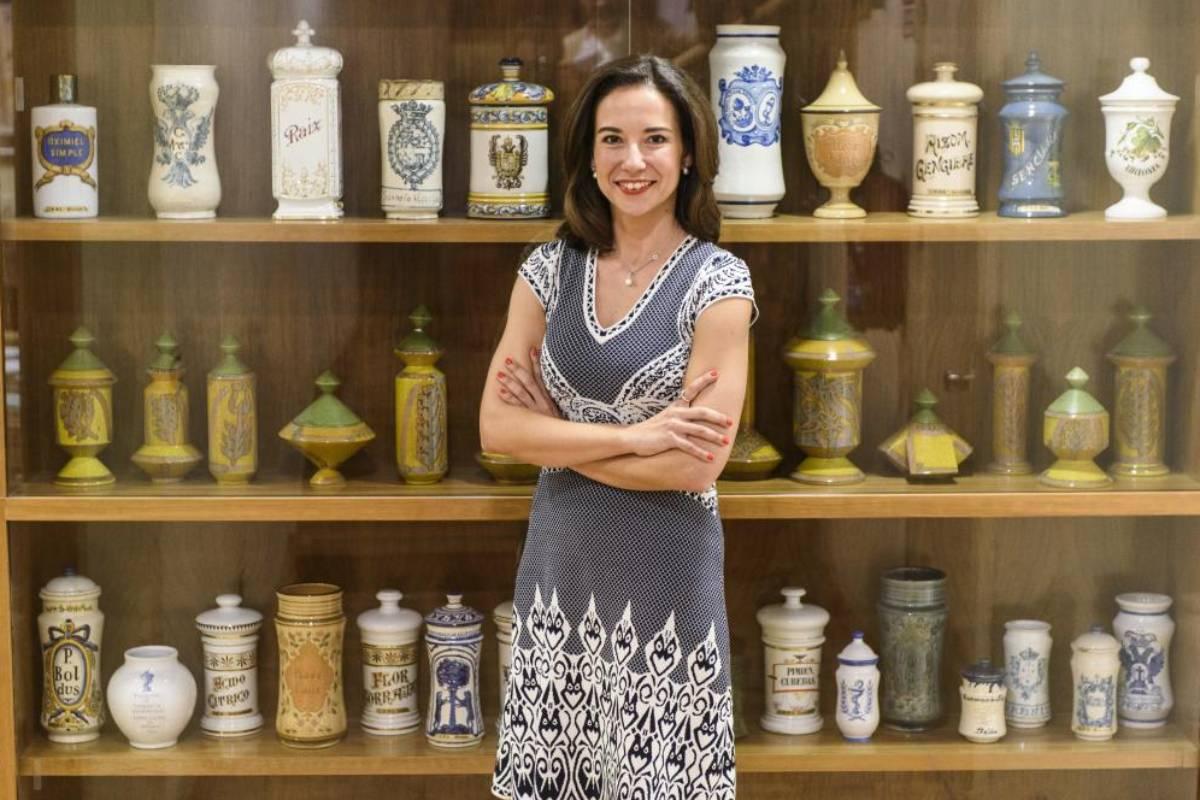 Raquel Mart�nez, secretaria general del Consejo General de COF.