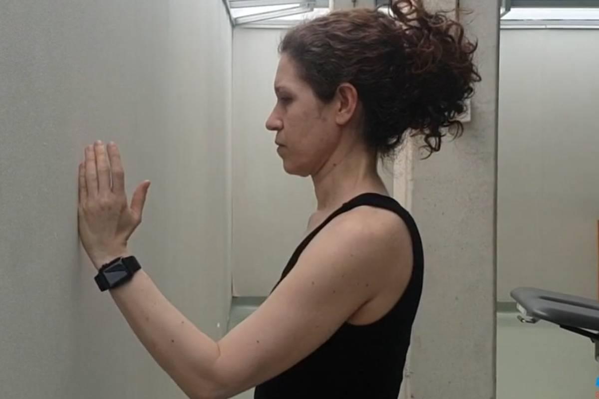 Los vídeos con los ejercicios permiten el seguimiento de la rehabilitación.