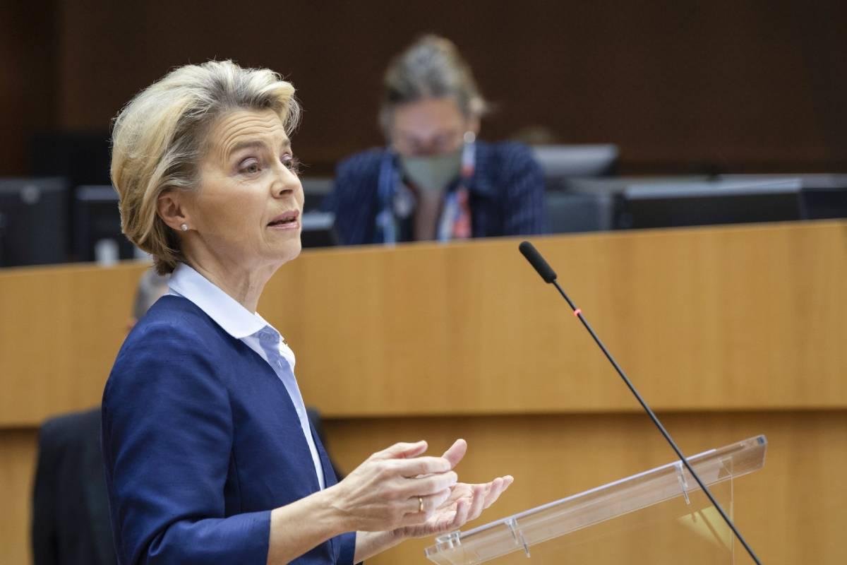 Ursula von der Leyen, presidenta de la Comisión Europea (EFE).