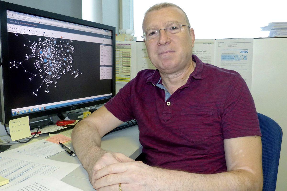 Joaqu�n Dopazo, director del Área de Bioinformática Cl�nica de la Fundación Progreso y Salud (FOTO: DM).