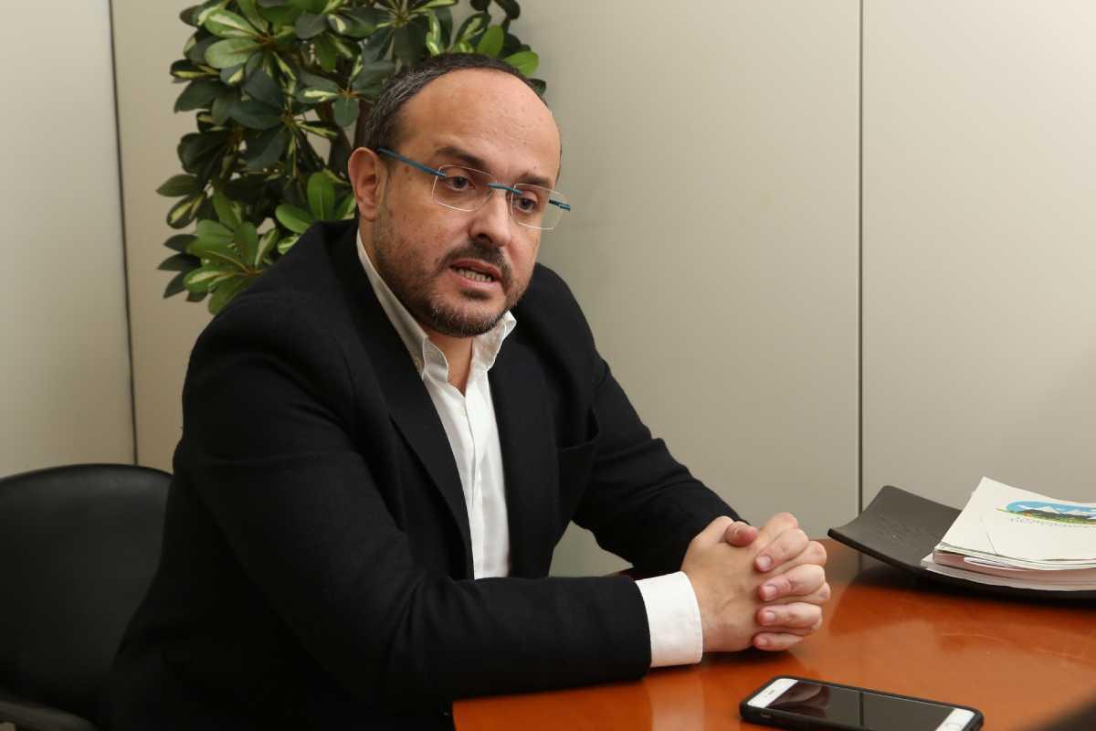 Alejandro Fernández, presidenciable por el PP.