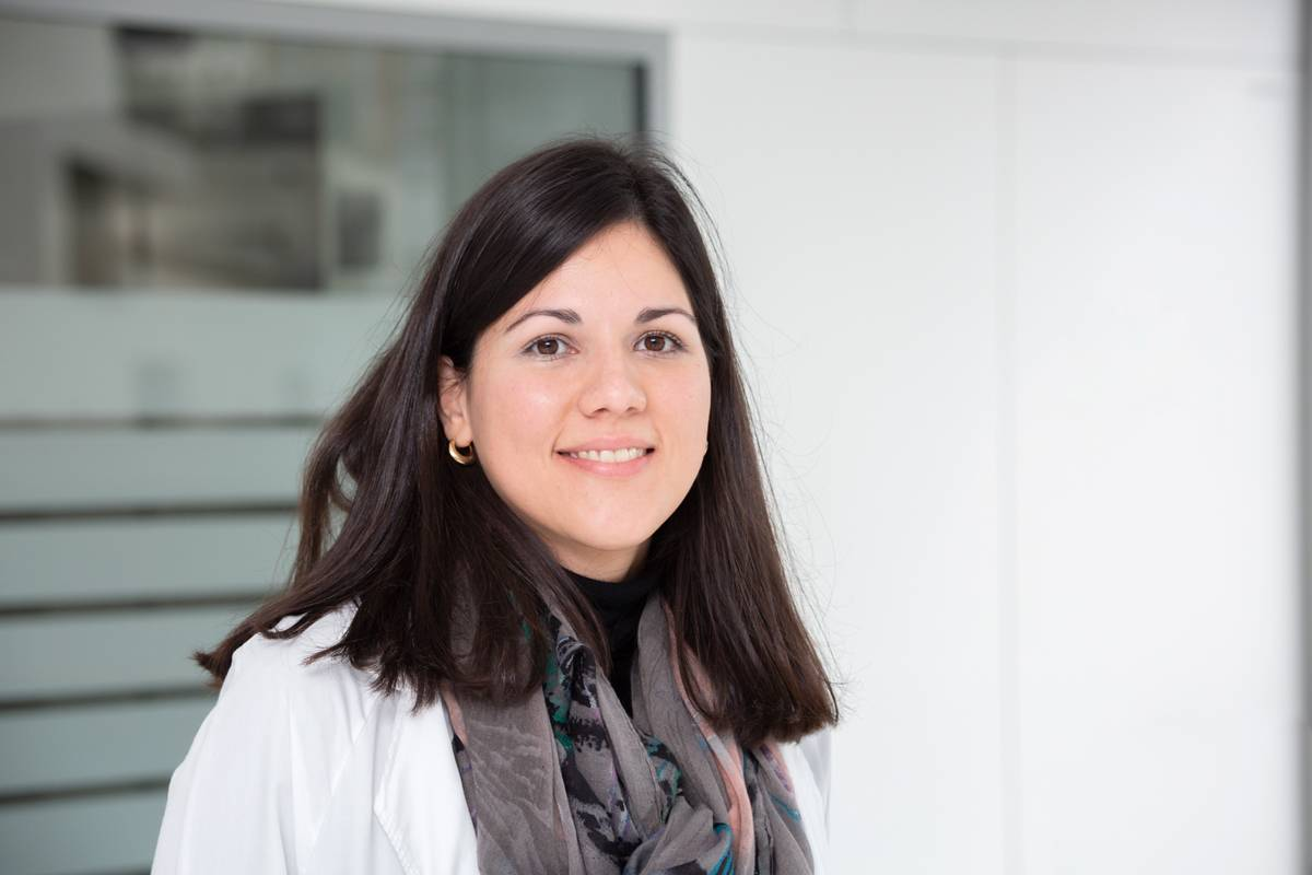 Ana Carolina Caballero, del Hospital de la Santa Creu i Sant Pau, en Barcelona.
