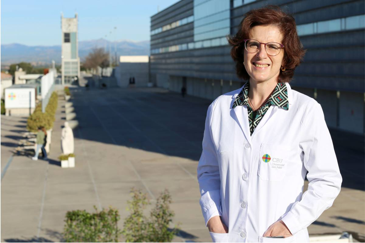Elena Alonso Aperte, vicedecana de la Facultad de Farmacia del CEU.