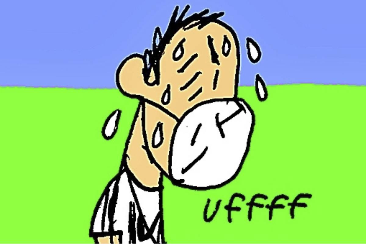 Realizar ejercicio moderado mejora la ansiedad y el estrés. (ILUSTRACIÓN: Miguel Santamarina)