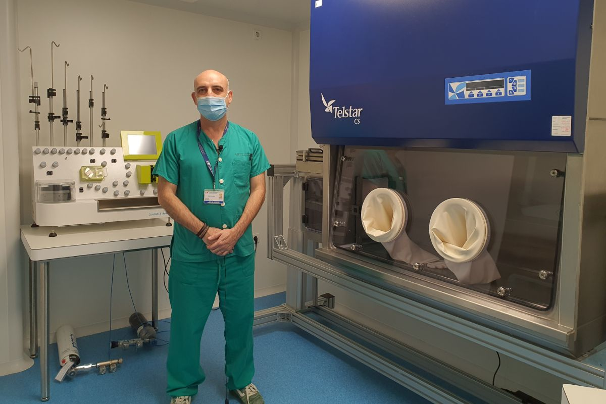 Joaquín Martínez López, del Hospital 12 de Octubre, coordina uno de los diversos ensayos CAR-T en Hematología.