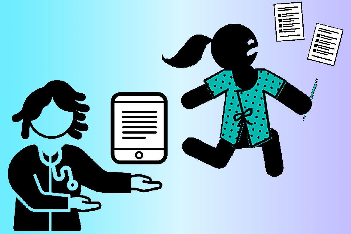 La firma del consentimiento informado en un dispositivo electrónico como una tablet puede ser admitido.