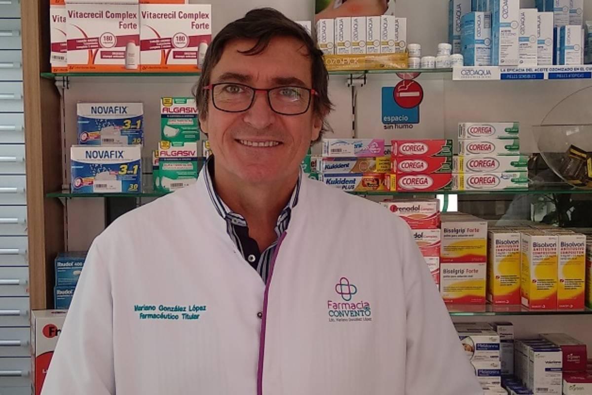 Mariano González, presidente de Fefcam.
