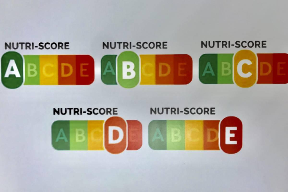 Modelo de etiquetado de 'NutriScore'.