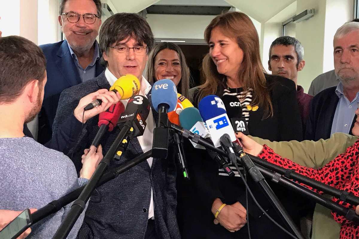 Puigdemont y Borràs, de Junts.