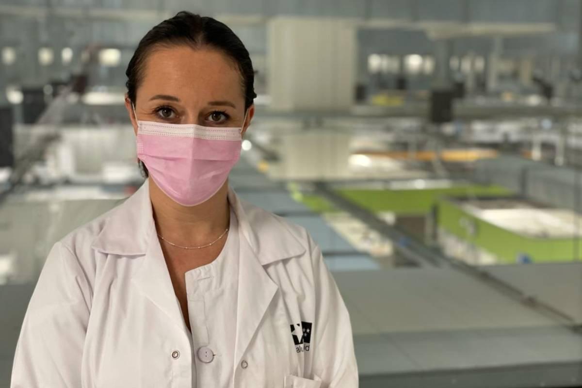 Verónica Real Martínez, directora de Enfermería del Hospital Isabel Zendal (Madrid).