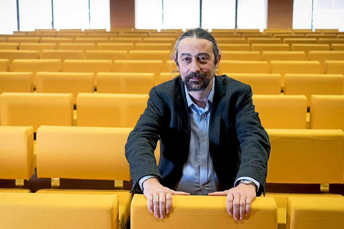 Adolfo García-Sastre, director del Instituto de Salud Global y Patógenos Emergentes del Hospital Monte Sinaí (Nueva York). FOTO: José Luis Pindado.