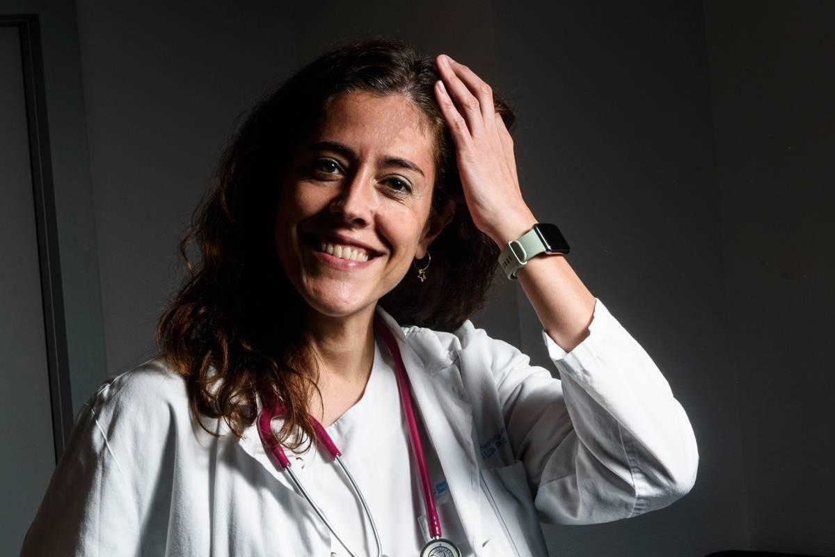 Berta González, pediatra especializada en hemato-oncología infantil en el Hospital La Paz, de Madrid.