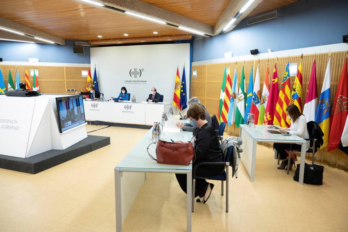 Reunión del Consejo Interterritorial del SNS.