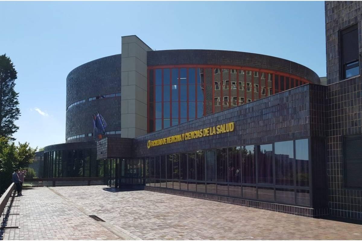 Facultad de Ciencias de la Salud de la Universidad de Oviedo.