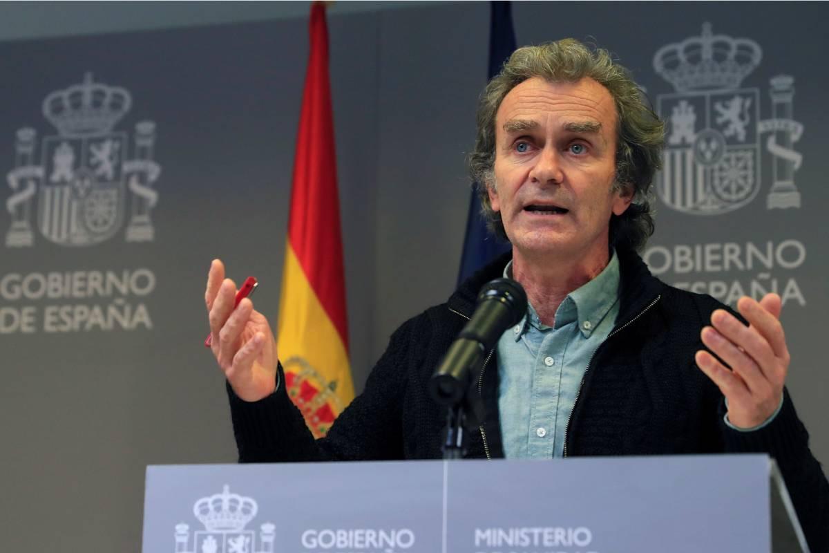 Fernando Simón, director del Centro de Coordinación de Alertas y Emergencias Sanitarias (CCAES) (EFE/Fernando Alvarado)