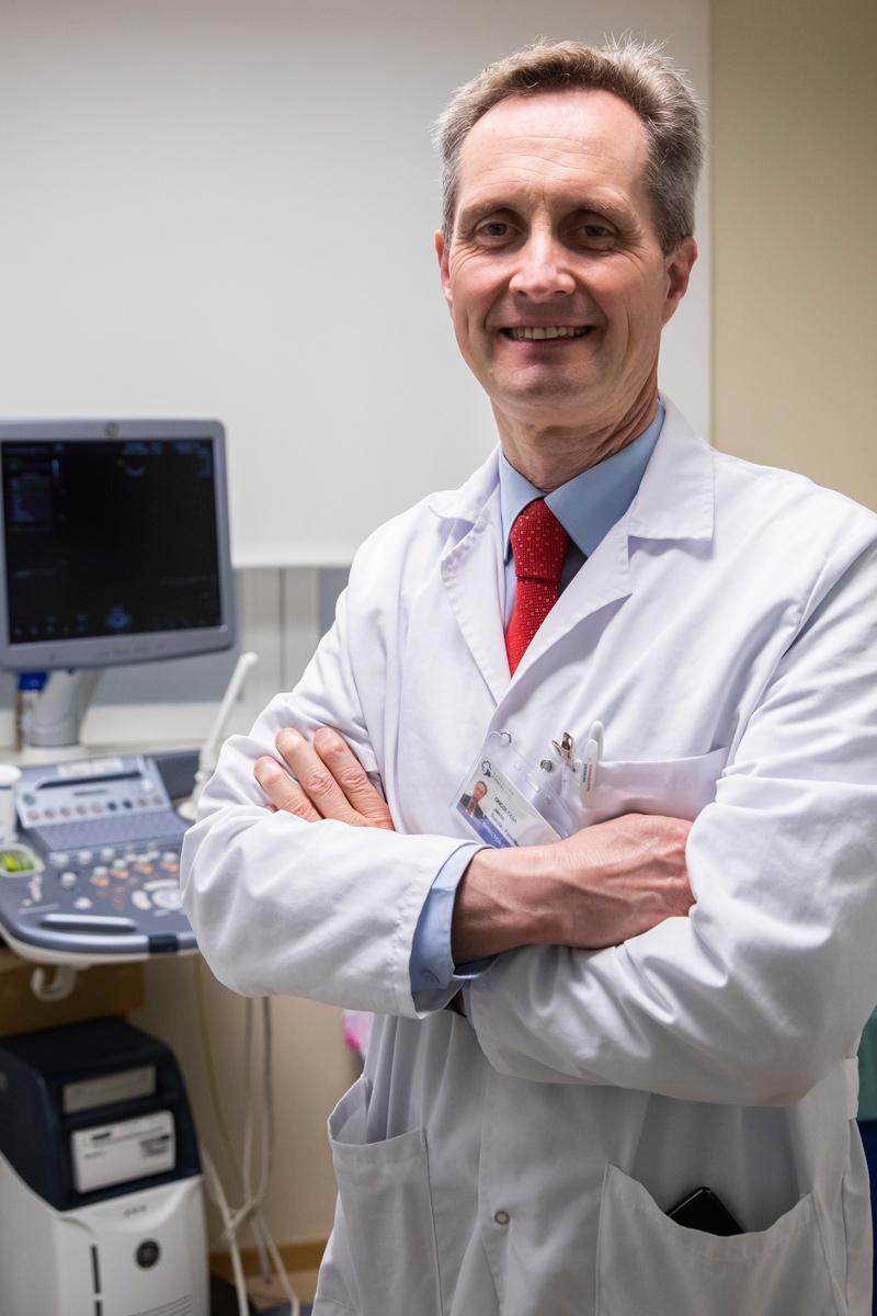 JesúsGarc�a-Foncillas,director del Instituto Oncológico del Hospital Universitario Fundación Jiménez D�az de Madrid