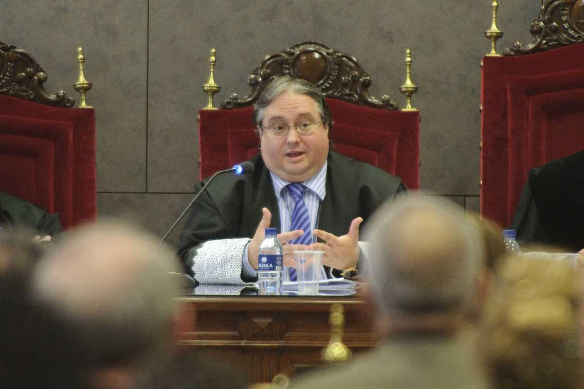 El magistrado Luis Ángel Garrido.