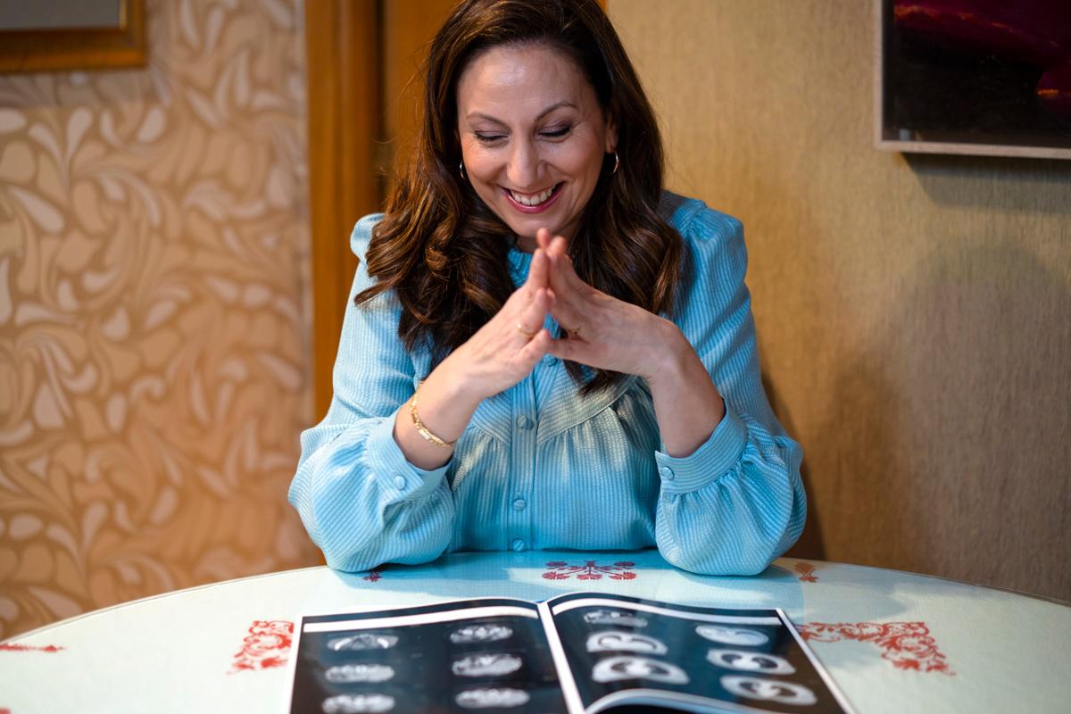 Irene Roldán tuvo cáncer de ovario hace cuatro años .