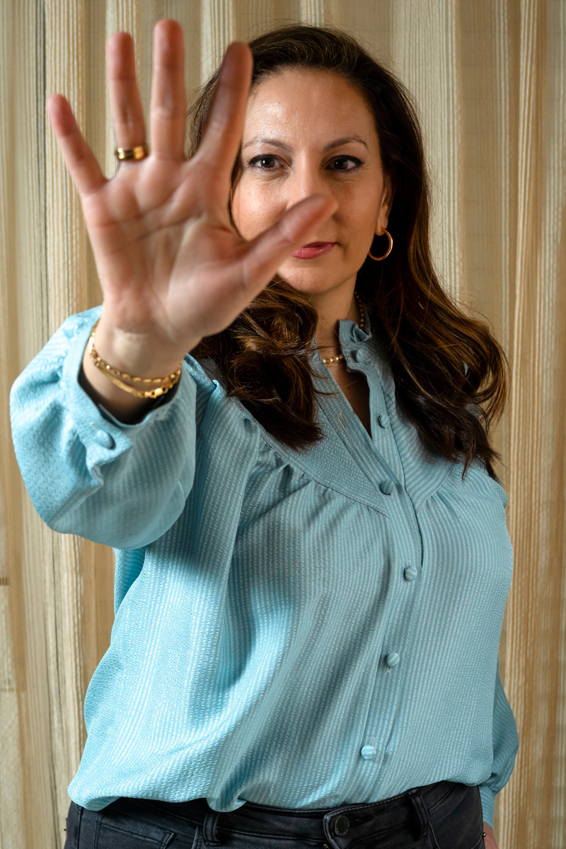 Después de la cirug�a, Irene Roldán se sometió a cinco meses de quimioterapia.
