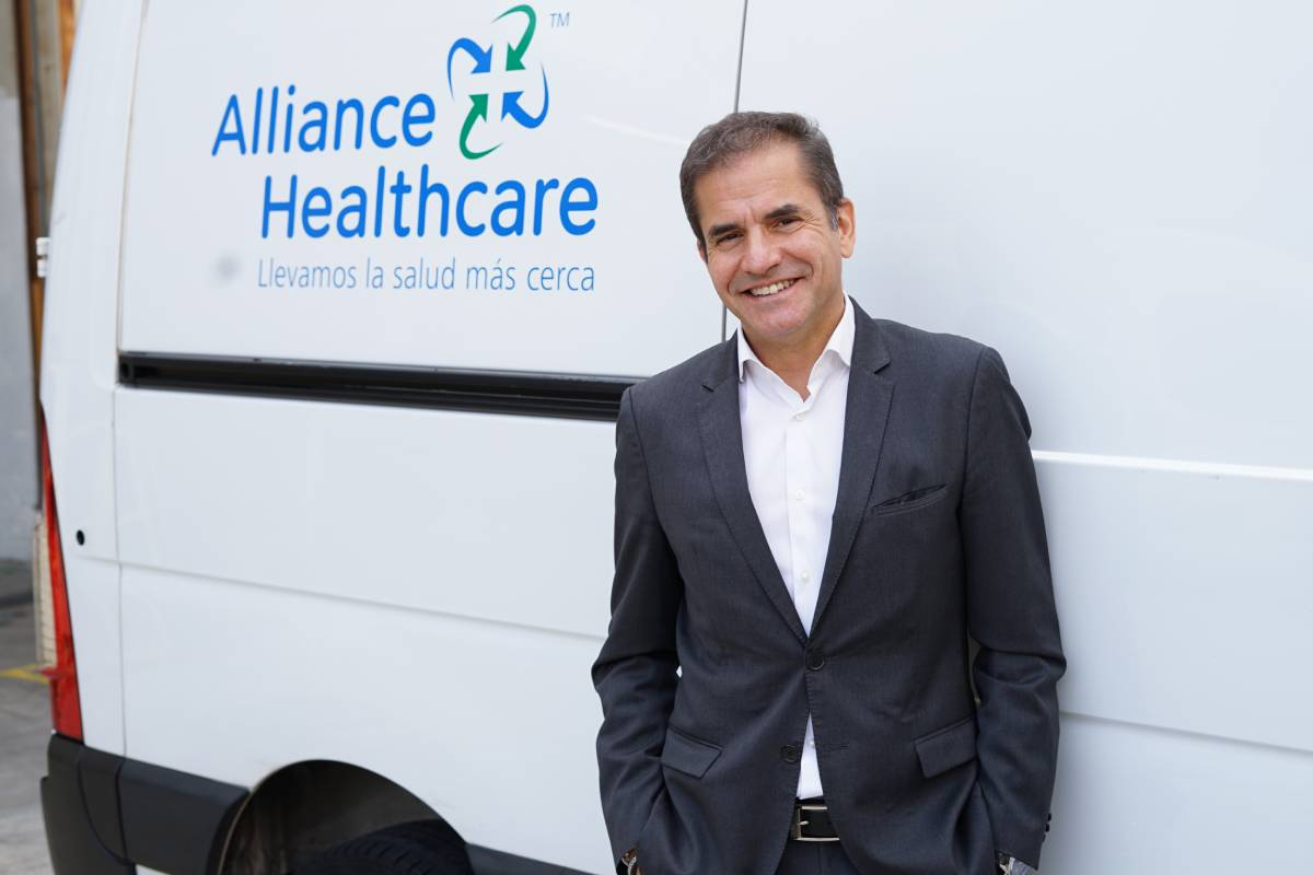 Javier Casas, director general de Alliance Healthcare,