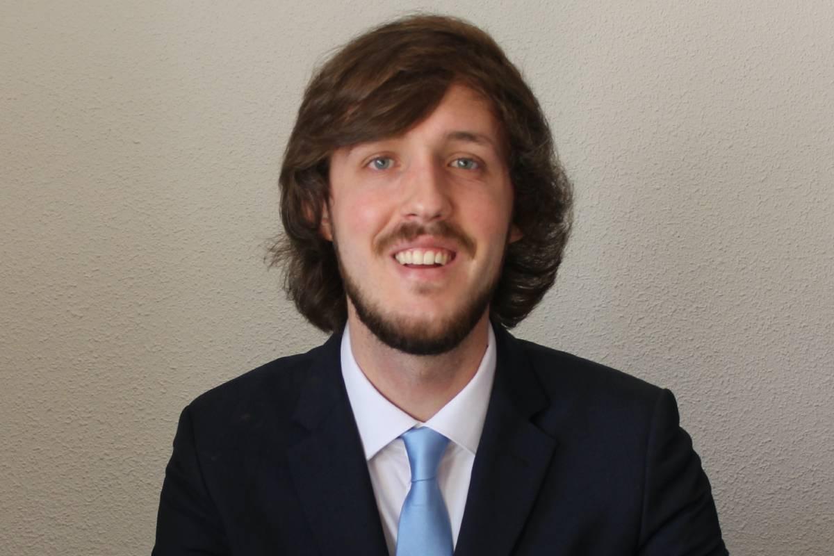 Javier Seijo, presidente de la Federación Española de Estudiantes de Farmacia (FEEF).